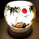 Đèn xông tinh dầu gốm Bát Tràng - Phong Cảnh Thuyền-4