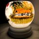 Đèn xông tinh dầu gốm Bát Tràng - Phong Cảnh Thuyền-2