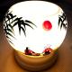 Đèn xông tinh dầu gốm Bát Tràng - Phong Cảnh Tre-1