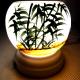 Đèn xông tinh dầu gốm Bát Tràng - Phong Cảnh Tre-4