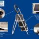 Thang ghế 3 bậc xếp gọn Advindeq ADS103-2