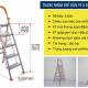 Thang nhôm ghế 5 bậc xếp gọn Advindeq ADS705-4