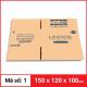 Thùng Carton gói hàng kích thước 150x120x100mm-4