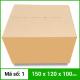 Thùng Carton gói hàng kích thước 150x120x100mm không in-2