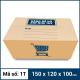 Thùng Carton gói hàng kích thước 150x120x100mm mẫu giỏ hàng-3