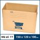 Thùng Carton gói hàng kích thước 150x120x100mm mẫu giỏ hàng-5