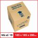 Thùng Carton gói hàng kích thước 185x185x280mm-3