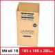 Thùng Carton gói hàng kích thước 185x185x280mm-2