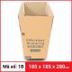 Thùng Carton gói hàng kích thước 185x185x280mm-6