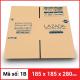 Thùng Carton gói hàng kích thước 185x185x280mm-7