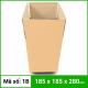 Thùng Carton gói hàng kích thước 185x185x280mm không in-4