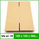 Thùng Carton gói hàng kích thước 185x185x280mm không in-1