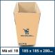 Thùng Carton gói hàng kích thước 185x185x280mm mẫu giỏ hàng-2