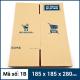 Thùng Carton gói hàng kích thước 185x185x280mm mẫu giỏ hàng-5