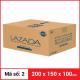 Thùng Carton gói hàng kích thước 200x150x100mm-4