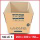 Thùng Carton gói hàng kích thước 200x200x150mm-3