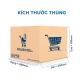 Thùng Carton gói hàng kích thước 200x200x150mm mẫu giỏ hàng-1