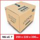 Thùng Carton gói hàng kích thước 250x220x200mm-5