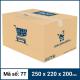 Thùng Carton gói hàng kích thước 250x220x200mm mẫu giỏ hàng-1