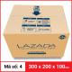 Thùng Carton gói hàng kích thước 300x200x100mm-4