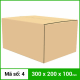 Thùng Carton gói hàng kích thước 300x200x100mm không in-2