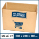 Thùng Carton gói hàng kích thước 300x200x100mm mẫu giỏ hàng-5