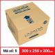 Thùng Carton gói hàng kích thước 300x250x200mm-5