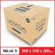 Thùng Carton gói hàng kích thước 300x250x200mm-4