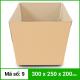 Thùng Carton gói hàng kích thước 300x250x200mm không in-2