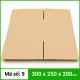Thùng Carton gói hàng kích thước 300x250x200mm không in-3