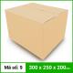 Thùng Carton gói hàng kích thước 300x250x200mm không in-5