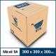 Thùng Carton gói hàng kích thước 300x300x300mm mẫu giỏ hàng-1