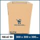 Thùng Carton gói hàng kích thước 300x300x300mm mẫu giỏ hàng-3