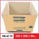 Thùng Carton gói hàng kích thước 320x300x90mm-3