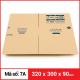 Thùng Carton gói hàng kích thước 320x300x90mm-2
