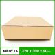 Thùng Carton gói hàng kích thước 320x300x90mm không in-4