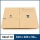 Thùng Carton gói hàng kích thước 320x300x90mm mẫu giỏ hàng-4