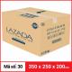 Thùng Carton gói hàng kích thước 350x250x200mm-3