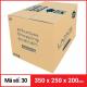 Thùng Carton gói hàng kích thước 350x250x200mm-1