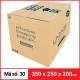 Thùng Carton gói hàng kích thước 350x250x200mm-4