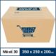 Thùng Carton gói hàng kích thước 350x250x200mm mẫu giỏ hàng-4