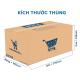 Thùng Carton gói hàng kích thước 370x105x130mm -3