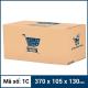 Thùng Carton gói hàng kích thước 370x105x130mm -2