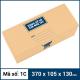 Thùng Carton gói hàng kích thước 370x105x130mm -5