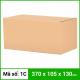 Thùng Carton gói hàng kích thước 370x105x130mm không in-4