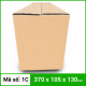 Thùng Carton gói hàng kích thước 370x105x130mm không in-2