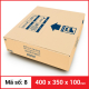 Thùng Carton gói hàng kích thước 400x350x100mm-1