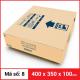 Thùng Carton gói hàng kích thước 400x350x100mm-4