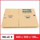 Thùng Carton gói hàng kích thước 400x350x100mm-3