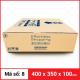 Thùng Carton gói hàng kích thước 400x350x100mm-2